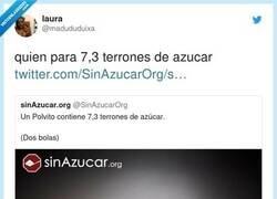 Enlace a Etiqueta a la persona con la que quieres 7,3 terrones de azúcar, por @madududuixa