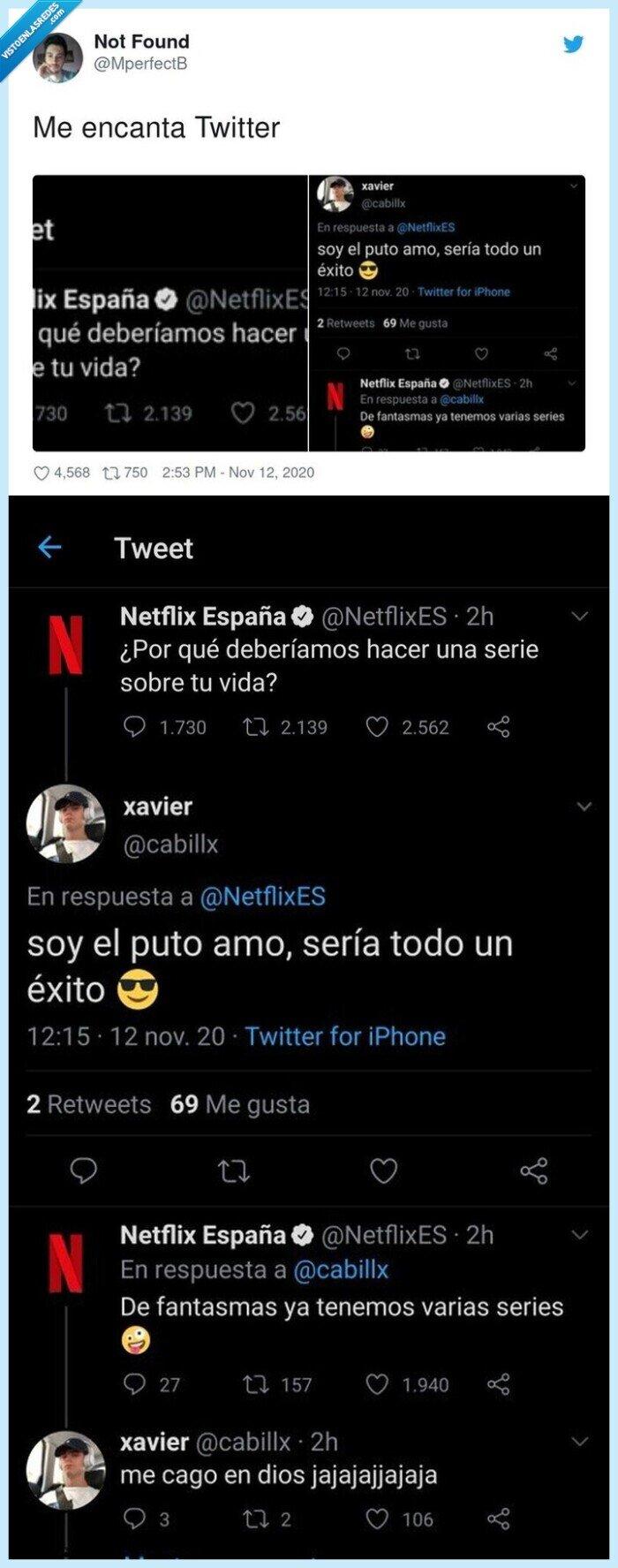 contestación,netflix,twitter,usuario,zasca