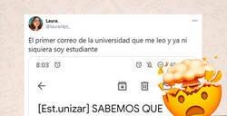 Enlace a El email de la universidad de Zaragoza que se ha hecho viral y ha descolocado por completo a los alumnos debido su tremenda sinceridad
