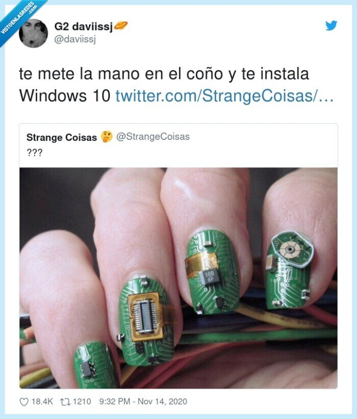 coño,instala,mano,windows