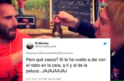745349 - Álvaro Ojeda intenta dejar en ridículo a Cruzcampo pero se lleva el enésimo zasca de su CM y la burla generalizada de las redes