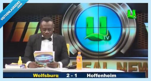 745504 - Este presentador de Ghana volviéndose loco mientras recita resultados de fútbol es todo lo que necesitas ver para acabar bien el día, por @enmachuckk