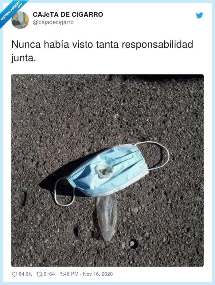 mascarilla,preservativo,protección,responsabilidad,seguridad