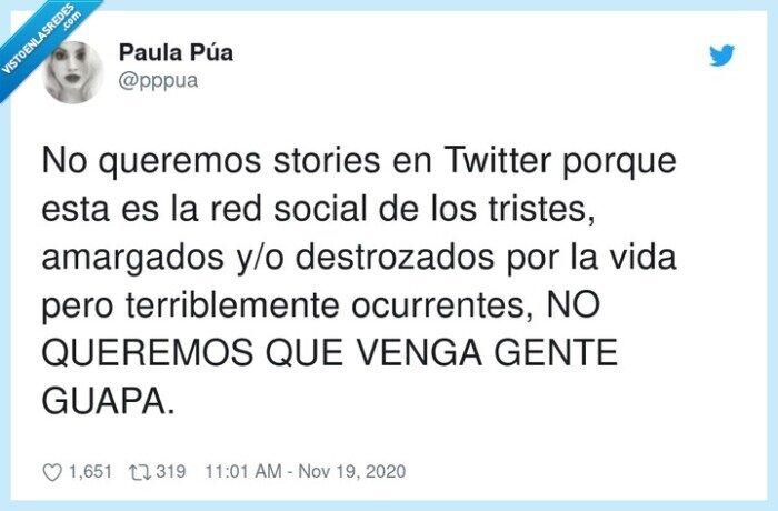 gente,guapa,stories,twitter