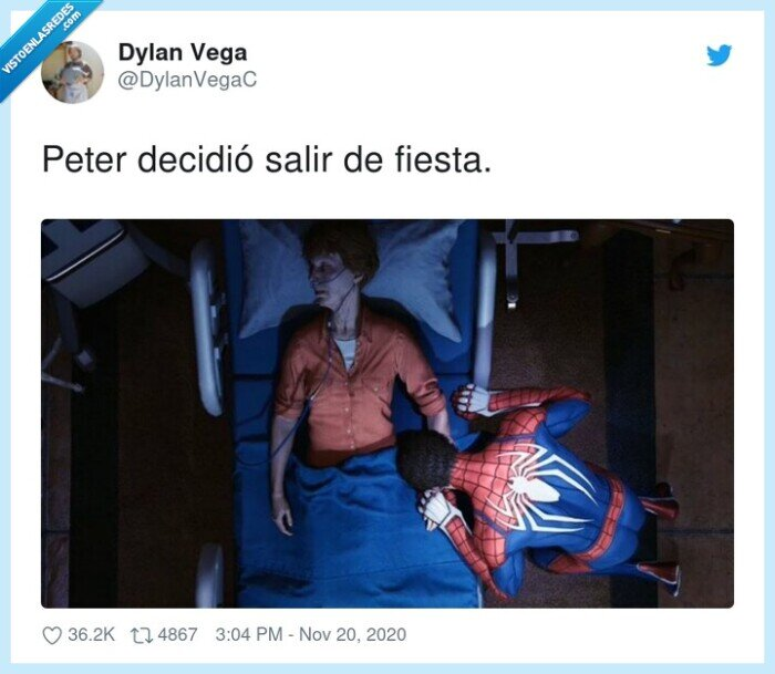 decidió,fiesta,peter