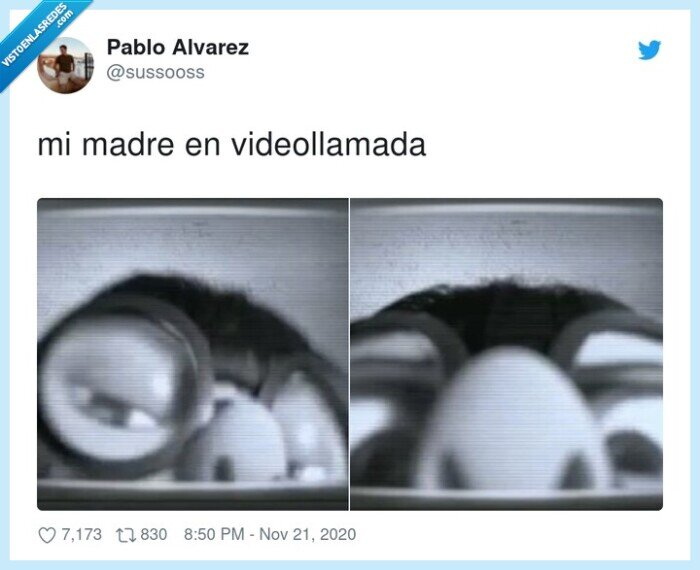 madre,perspectiva,videollamada