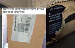 Enlace a Se compra la PS5 online y cuando abrió el paquete no había para nada lo que esperaba ver, por @katron69