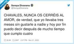 Enlace a Nunca hay que dejar de creer, por @SorayaDivanana