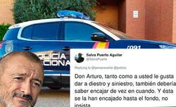 Enlace a La Policía Nacional le mete un doloroso zasca a Arturo Pérez-Reverte en su propio terreno y la gente le pide que deje de hacer el ridículo
