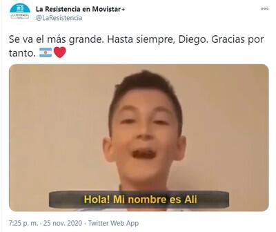 754053 - El 'homenaje' de 'La Resistencia' a Maradona con un vídeo en el que no le deja en muy buen lugar y que enciende la parte más cruel de Twitter