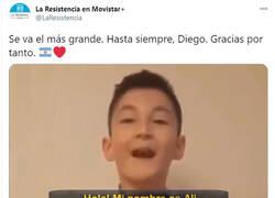 Enlace a El 'homenaje' de 'La Resistencia' a Maradona con un vídeo en el que no le deja en muy buen lugar y que enciende la parte más cruel de Twitter