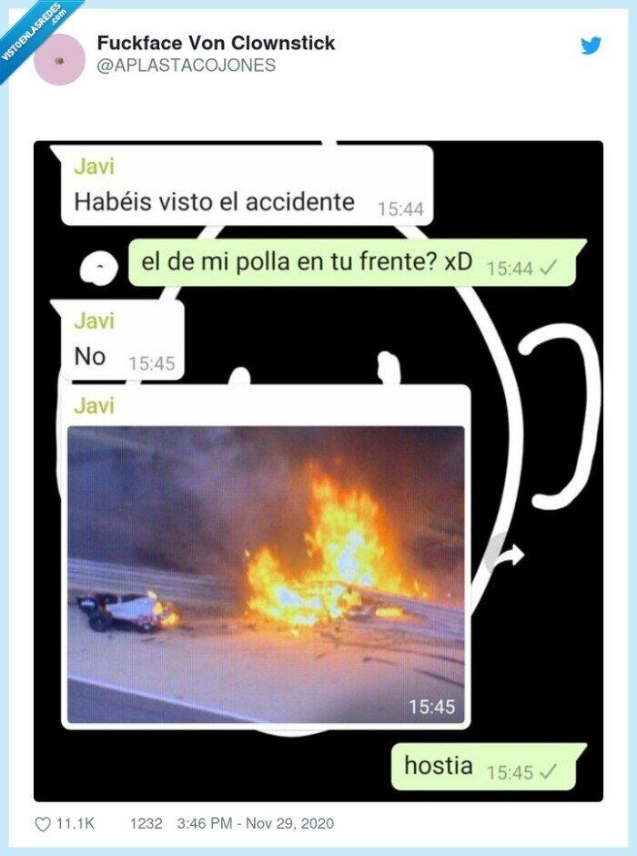 accidente,fórmula1