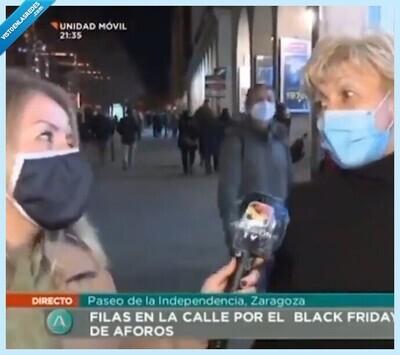 756819 - La cara de tierra trágame que se le queda a esta reportera tras escuchar el surrealista método que tiene una señora para combatir el coronavirus, por  @A_Baeyens