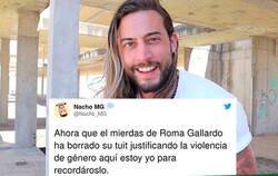 Enlace a Liada parda en Twitter por el comentario borrado del youtuber Roma Gallardo sobre la violencia de género que ha encendido a todo el mundo