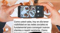 Enlace a Una pareja de influencers intentan comer gratis en un restaurante a cambio de visibilidad pero la jugada les sale fatal, por @topikrestaurant
