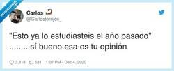 Enlace a La típica frase que habrás escuchado más de una vez de la boca de los profesores, por @Carlostorrijos_