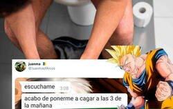 Enlace a Descubre que tiene un extraño superpoder solo cuando va al baño y provoca el cachondeo total en Twitter, por @JuanmaofArcos