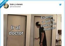 Enlace a Y así llevo 5 años sin ir al médico, por @ivandooblef
