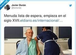 Enlace a Dicen que aquí en España la primera persona en la lista de espera se llama Miguel Cervantes Saavedra, por @tortondo