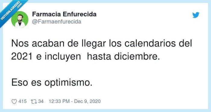 2021,calendarios,diciembre,optimismo