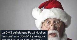 Enlace a La OMS Dice que Papa Noel es inmune al coronavirus, y ojo al final de la historia porque no se podía saber, por @Aquel_Coche