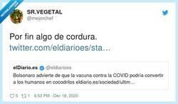 Enlace a Todos reptilianos según Bolsonaro, por @mejorchef