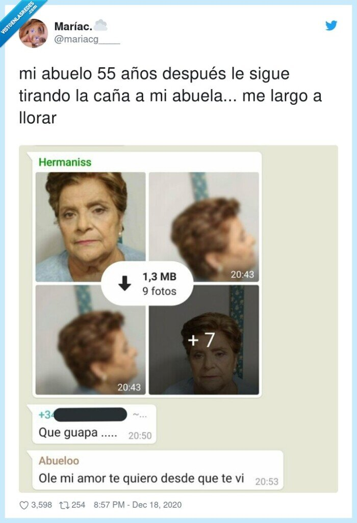 abuela,abuelo,amor,whatsapp