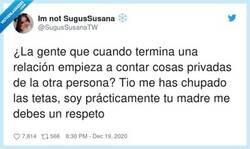 Enlace a Un respeto, ¿no?, por @SugusSusanaTW