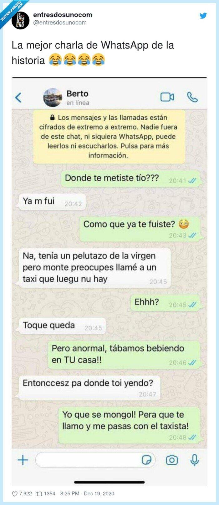 borracho,charla,historia,mejor,taxi,whatsapp