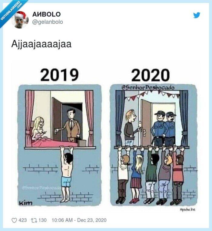 2019,2020,multitud,pillada,policía