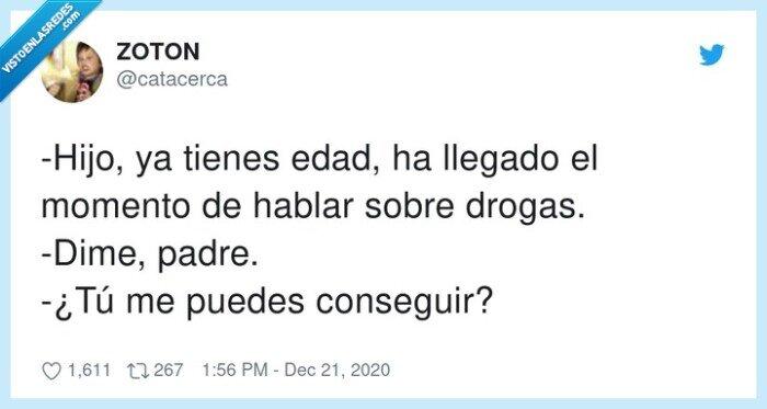 drogas,hijo,padre,pillar