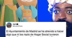 Enlace a Toda España está flipando con el rey Baltasar del cartel de Madrid, es el nuevo Michael Jackson