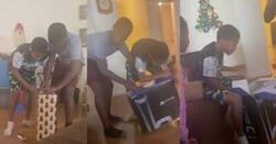 Enlace a Unos padres gastan una broma a sus hijos adolescentes regalándoles por Navidad una PS5 falsa