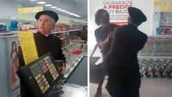 Enlace a Un cura se lía a golpes contra los clientes de un supermercado que le pidieron que se pusiera la mascarilla
