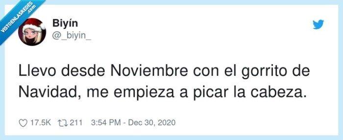 gorrito,navidad,noviembre