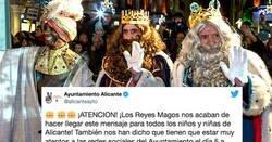 Enlace a El Ayuntamiento de Alicante se lo lleva calentito por lo que se ve en este vídeo para la cabalgata de Reyes, por @BryanMxrt