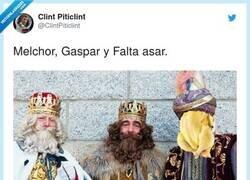 Enlace a Melchor, Gaspar y Va al bazar, por @ClintPiticlint
