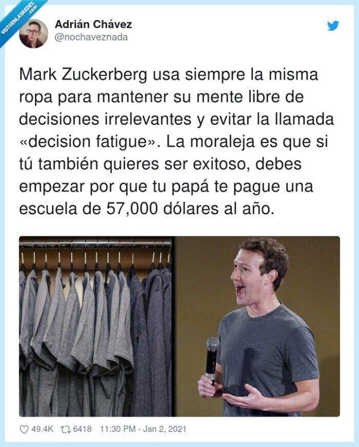 decision,decisiones,dólares,irrelevantes,mark zuckerberg