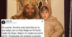 Enlace a Sube una foto de un rey mago y a la gente le empieza a sonar mucho, por @nopodemosmas
