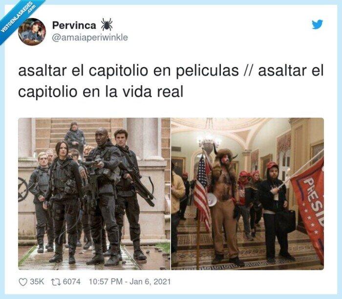 asaltar,asalto,capitolio,eeuu,peliculas,usa,vida real