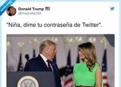 Enlace a Trump tras el bloqueo de sus redes sociales, por @magnateUSA