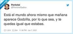 Enlace a Ya ves tú, Godzilla, por @PentotalSadico