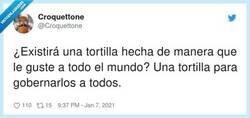 Enlace a Tortilla de croquetas, por @Croquettone
