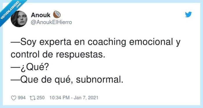 coaching,emocional,experta,respuestas,subnormal