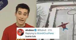 Enlace a Jordi Cruz está hasta la po**a de la nieve, y así lo demuestra con este tweet y su graffiti, por @JordiCruzPerez