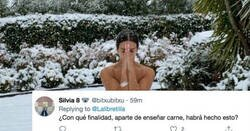Enlace a La Pedroche sube una foto desnuda en medio de la nieve y toda España se vuelve loca, por @Lalibretilla