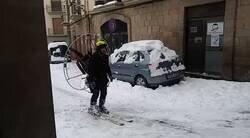 Enlace a Que pare ya de nevar por favor, por @joshhemoji