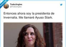 Enlace a Ayuso Stark, por @TodoJingles