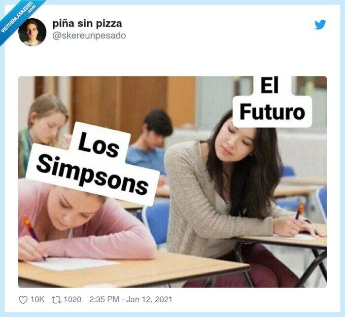 futuro,predecir,simpson