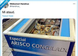 Enlace a Arisco congelado, por @Handrius_